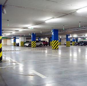 Estacionamento 450 vagas